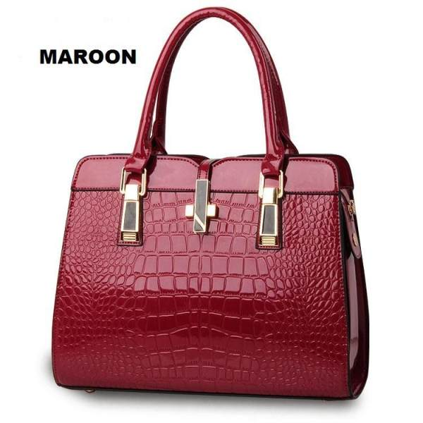 Tas Branded Wanita - Sling Bags - PU Leather - Black - 82583. Source · f2efc41fe4