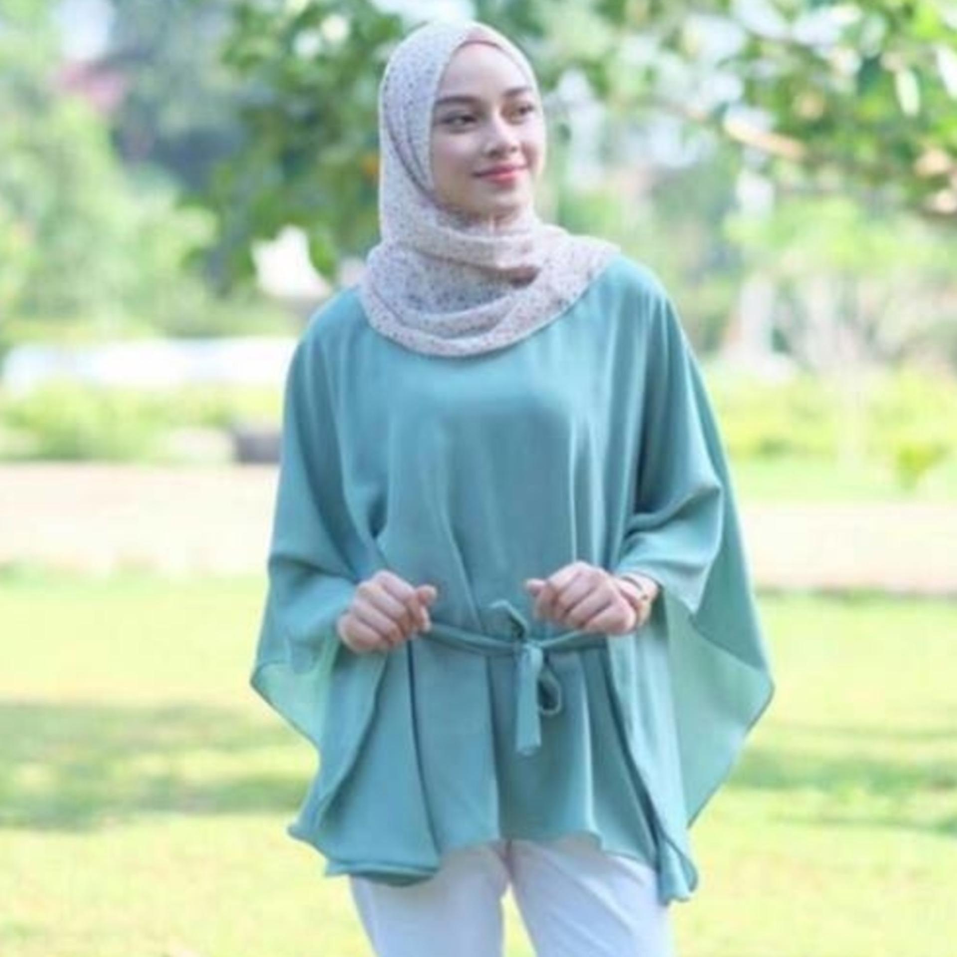 Promo Atasan Wanita - Clove Blouse - Tunik - Baju Muslim - Blus Muslim Murah