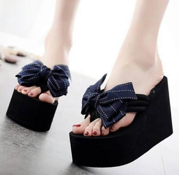 LOVING SHOES wedges wanita cantik murah