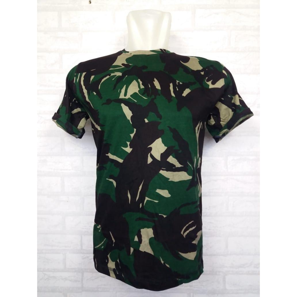 Loreng Armi Abri Motif Tentara Zos T Shirt Army T Shirt Pria Wanita .