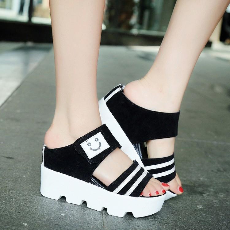 Jual Sandal Wedges Terbaru  4e9c29615f