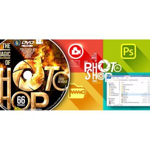 Buku Photoshop DVD Video Tutorial CS6 & CC Terlengkap Pemula 4
