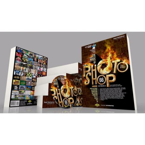 Buku Photoshop DVD Video Tutorial CS6 & CC Terlengkap Pemula 1