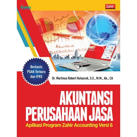 Indeks - Akuntansi Perusahaan Jasa: Aplikasi Program Zahir Accounting Versi 6 - Martinus Robert Hutauruk