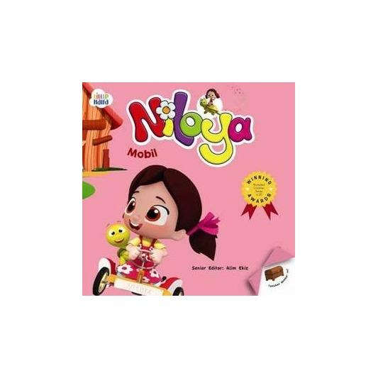 SALE Buku Cerita Anak Board Book - Seri Niloya : Mobil - Halo Balita Islam - Board Book -  Hard Cover Book Murah