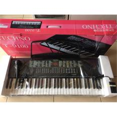 TECHNO T-9100 Keyboard 61 Keys with 8 Channels