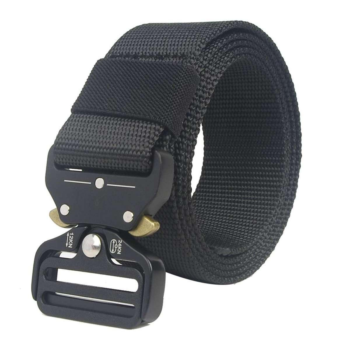 Ikat Pinggang / Gesper Fighting Belt Tactical Series Strap Nylon Head Stainless Steel Gabriel's Store
