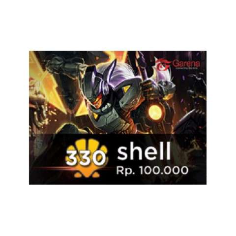 Garena Voucher 100.000 (330 Shell) - Digital Code