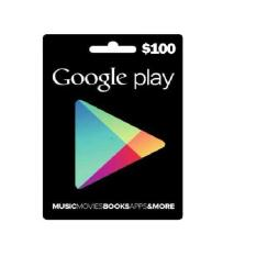 GOOGLE PLAY GIFT CARD US $100
