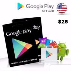 Google Play Gift Card US Region - US$25 - Digital Code