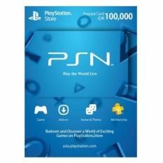 PlayStation Network (PSN) Card IDR 100.000 - Digital Code