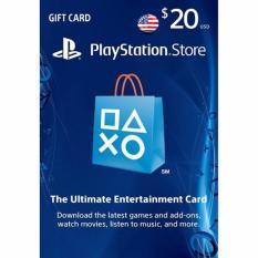 PlayStation Network (PSN) Card US Region $20 - Digital Code