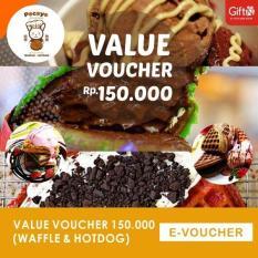 Pocoyo Value Voucher 150ribu (Waffle & Hotdog)-Mini Market Sinar Ultra Banjarmasin