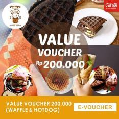 Pocoyo Value Voucher 200ribu (Waffle & Hotdog)-Mini Market Sinar Ultra Banjarmasin