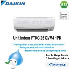 AC DAIKIN SPLIT FTKC25QVM4 1 PK (INVERTER) - Putih