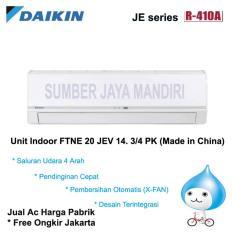 Ac Daikin Split FTNE20JEV14 3/4 PK (CHINA) - Putih