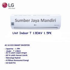 Ac LG Split Inverter T13EMV - 1.5PK - Putih Khusus Jakarta