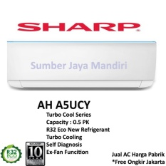 AC Sharp Split AH-A5UCY 1/2 PK - Putih