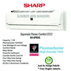 AC Sharp Split Plasma Cluster AH-AP9SHL 1PK - Putih