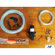Paket Doorsmeer Motor Mobil AC 5.1 Liter/Menit  Pompa Air DC 12V Kualitas Terbaik