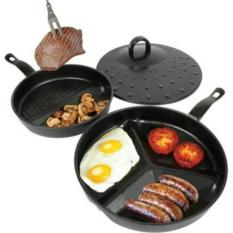Alat Dapur Divide Wonder Pan Set As Seen On Tv