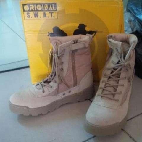 Harga Jual Asli Sepatu Swat Tan Rp 688000
