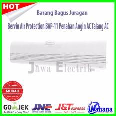 Bervin Air Protection BAP-11 Penahan Angin AC Atau Talang AC Putih