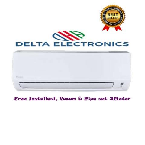 Daikin AC FTV50BXV 2PK Standard R32 Putih+Paket Instalasi+Vacum+Pipa Set(