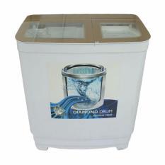 BEST Sarung Cover Mesin Cuci SUNFLOWER Bahan Satin Tebal Anti Air/ Panas - Tipe B