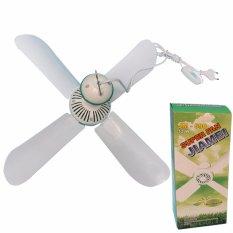 EELIC JM-590 12 Watt  Mini Fan Kipas Angin GANTUNG  4 Baling Baling Multifungsi
