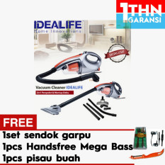Idealife Il 130 S Vacuum Cleaner + Gratis 1set sendok garpu + 1pc Handsfree Mega Bass + 1pc Pisau Buah