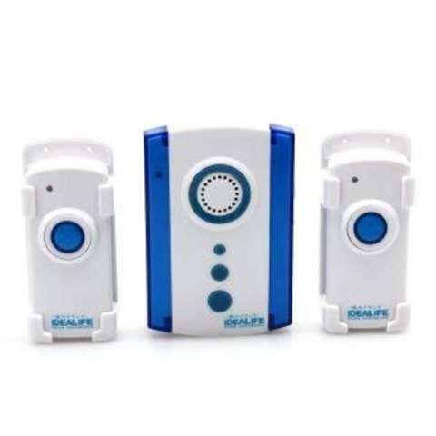 Jual Beli Jual Bell Bel Pintu Doorbell Idealife Wireless Door Bell Ac 2 Remote Harga Rp