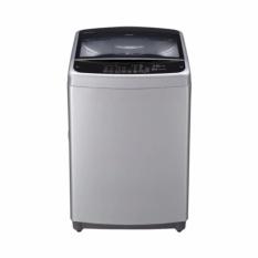 LG T2350VSAM Mesin Cuci Otomatis Top Loading - 10.5 Kg - Abu abu - Khusus Jabodetabek
