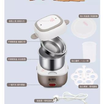 ... Promo Mini Rice Cooker Portable Multifunction Plus Egg Boiler 2 Susun Murah