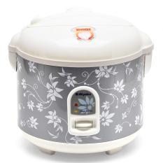 Miyako MCM528 Rice Cooker , Magic Com, Magic Jar , Penanak Nasi - 1.8 L - Abu-abu