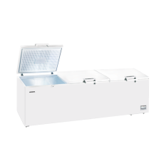 Modena Freezer Box MD 130 W - Chest Freezer 1300 Liter (3Pintu) - 265 cm - Putih - Khusus Jabodetabek