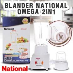 National Omega MX-T2GN Blender 3 in 1 - Putih