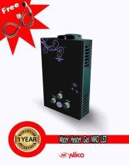 Niko Water Heater Gas Instan 6L Digital
