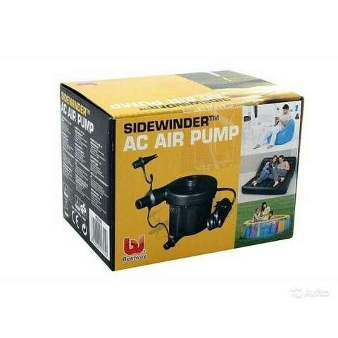 ORIGINAL - Bestway 62056 Sidewinder AC Air Pump / Pompa Angin