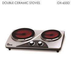 OXONE Kompor Listrik Ceramic 2 Tungku OX-655D