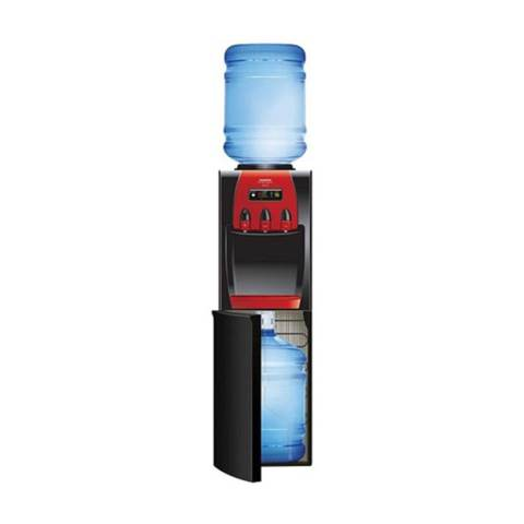 Sanken Hwd-Z88 Standing Water Dispenser Galon Atas & Galon Bawah- Hitam 1