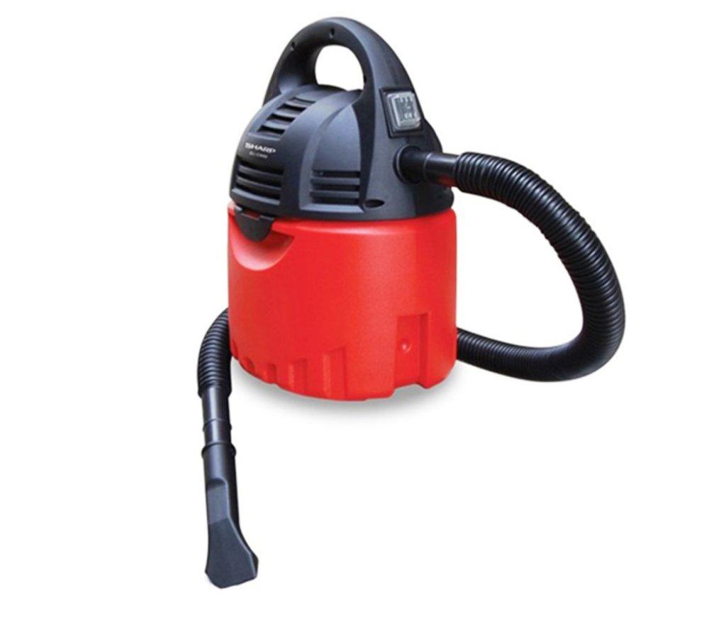 Sharp EC-CW60 Vacuum Cleaner Basah & Kering - 600 W - Merah-Hitam