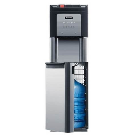 SHARP Water Dispenser Galon Bawah - SWD-73EHL-BK - Hitam -Khusus Jabodetabek 1