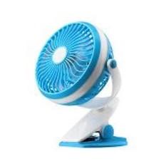 Teckyo Mini Fan 05 Kipas Angin Mini Jepit kecil Rechargable - Random