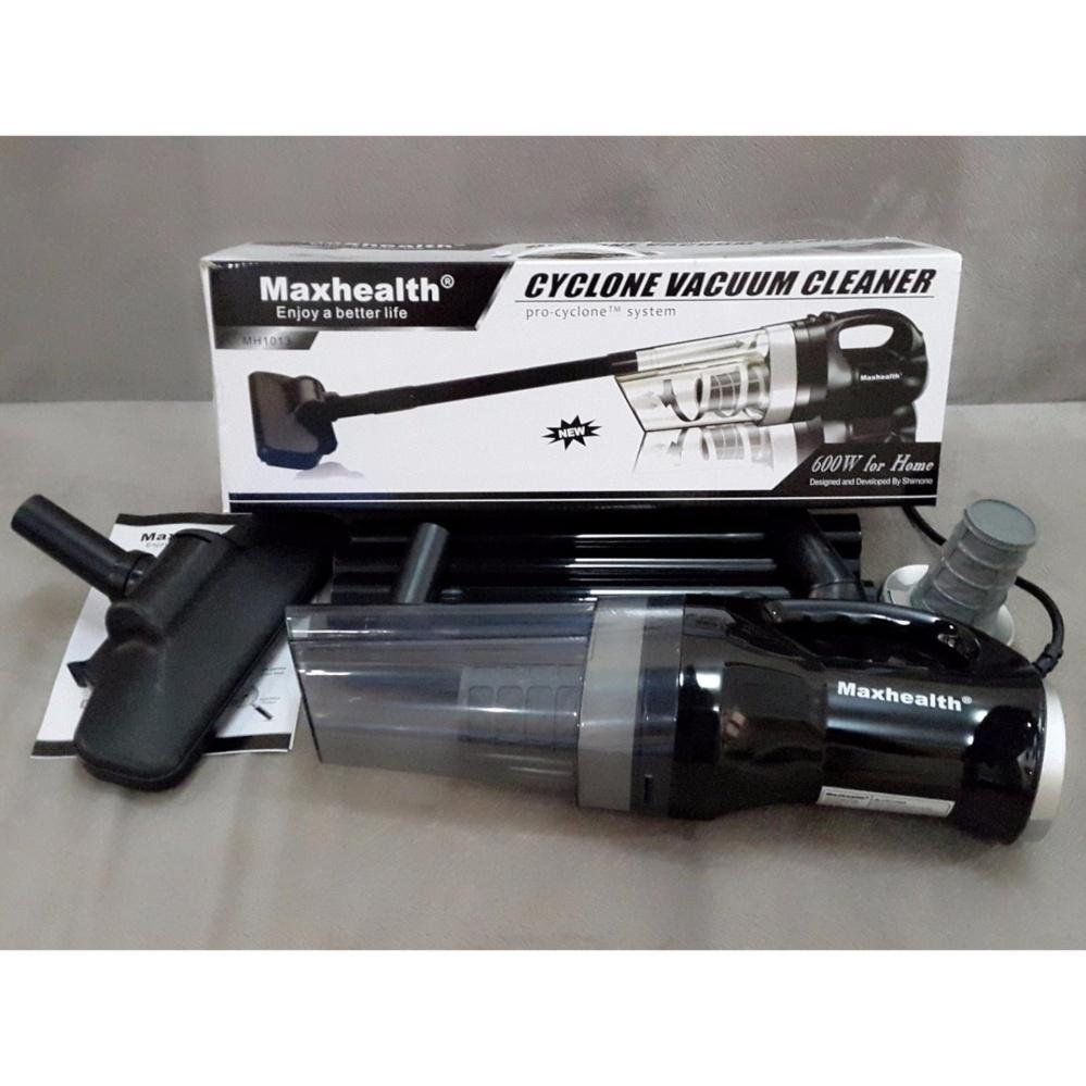 Vacuum cleaner maxhealth alat hisap debu vakum penghisap kotoran - Black Promo