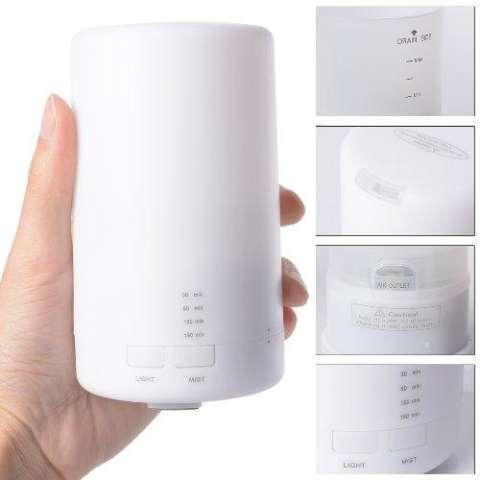 XCSource Ultrasonic Home Aroma Humidifier Air Diffuser Purifier Atomizer - Putih