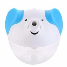 Zell Lucky Elephant Shape Portable Mini Humidifier Night Lamp USB Powered Air Humidifier - Biru