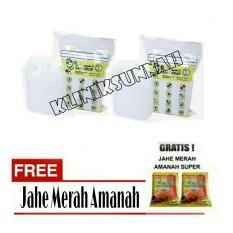 Air Zam Zam water Safe Wrap - Paket 2 liter + Jahe Amanah