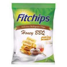 Kalbe Fitchips Snacking With No Worries Ada 2 Non MSG - Rasa Honey BBQ 60 Gram