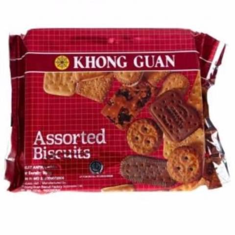 Home; Khonguan Assorted Biscuit - Biskuit Aneka Rasa 300g Murah
